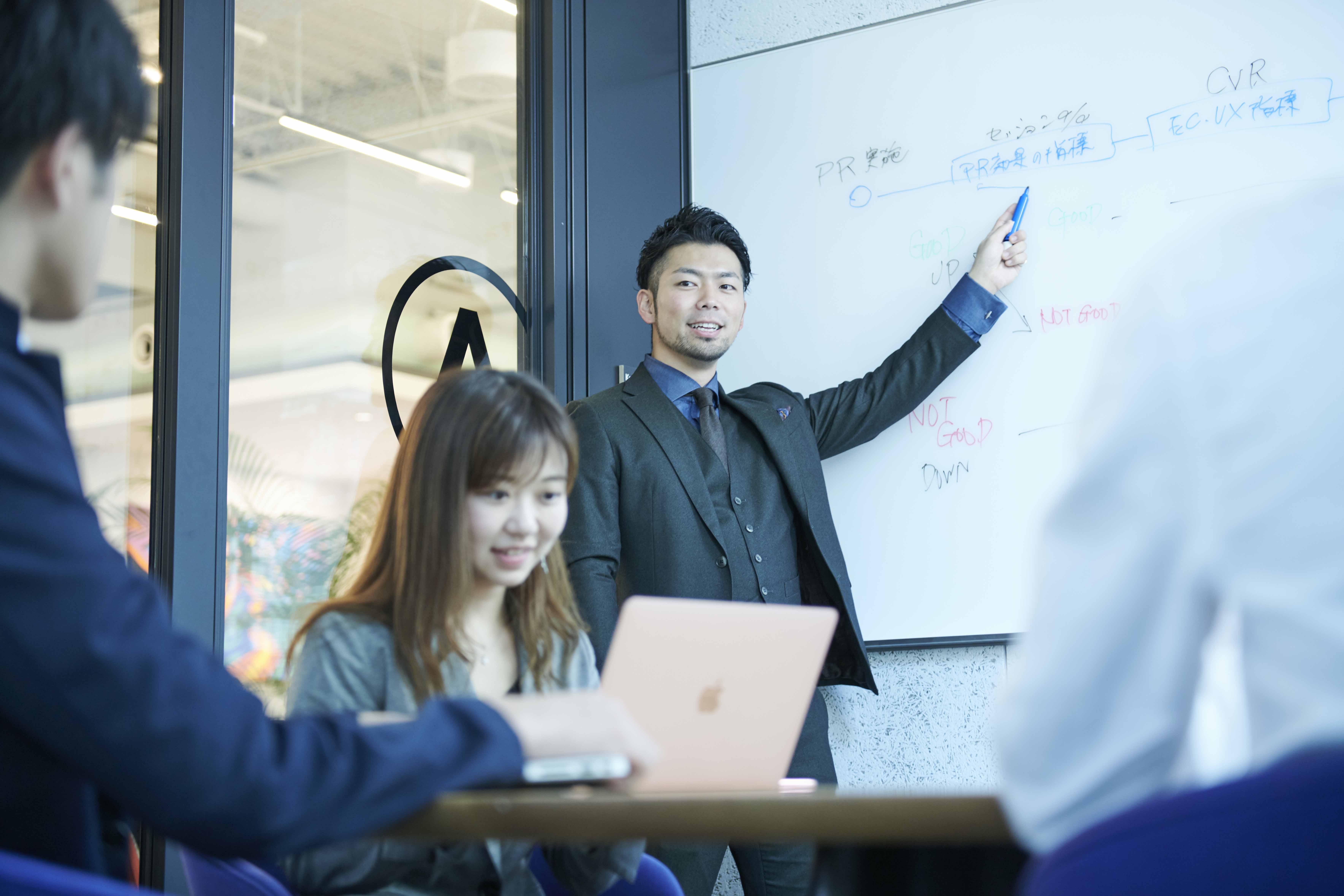 僕も学生のときにインターンでこの業界に入りました/社長 佐藤雅紀