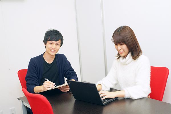 少数精鋭で支社長との距離も近いので起業志向の学生にもおすすめ!