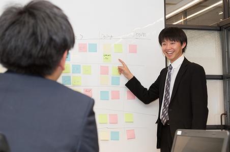 【社風】活気に溢れる社内、社員との距離が近いインターン